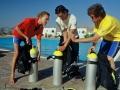 Divemaster internship Europe Divemasters kit