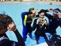 PADI Divemaster internship - internship Divemaster - Divemaster pool session