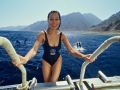 Divemaster internship Europe Divemaster getting on boat