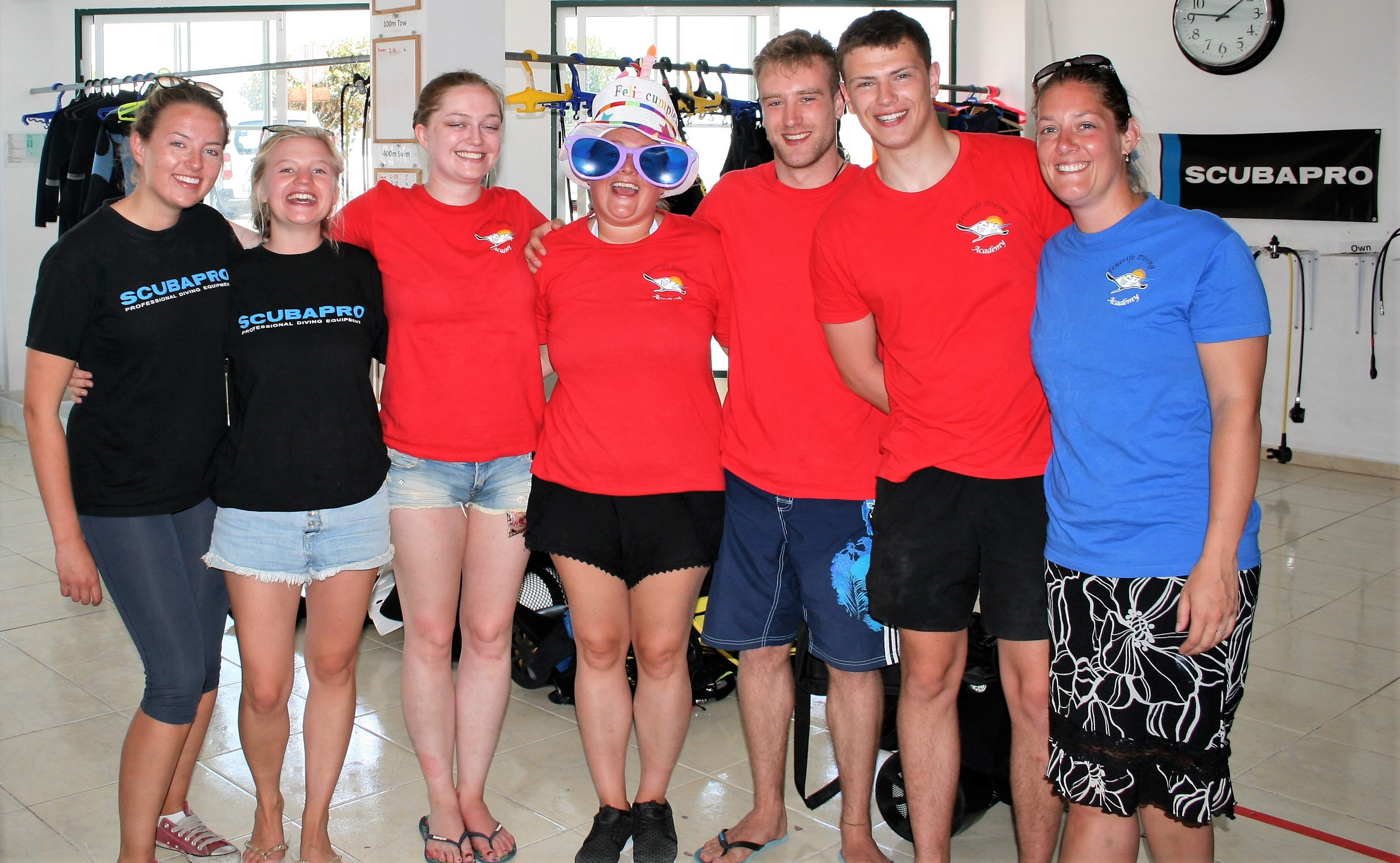PADI Divemaster almost finished…….